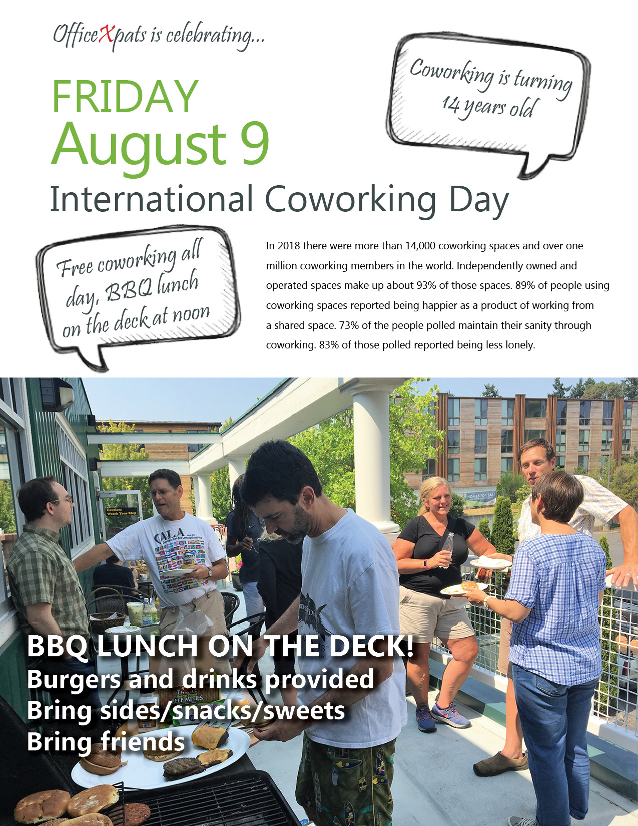 Celebrate International Coworking Day!